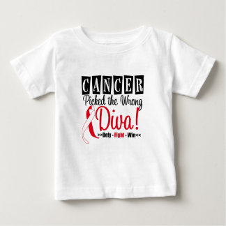 Oral Cancer Picked The Wrong Diva v2 Tshirts