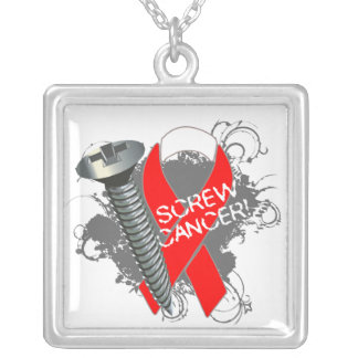 Oral Cancer - Screw Cancer Jewelry