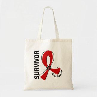 Oral Cancer Survivor 12 Budget Tote Bag