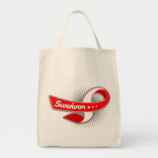 Oral Cancer Survivor Ribbon Bag
