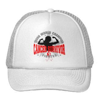 Oral Cancer Tough Survivor Trucker Hat