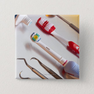 Oral Hygiene - Electric toothbrush, manual 15 Cm Square Badge
