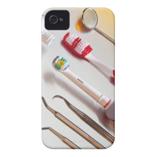 Oral Hygiene - Electric toothbrush, manual iPhone 4 Case-Mate Cases