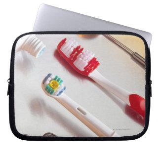 Oral Hygiene - Electric toothbrush, manual Laptop Sleeve