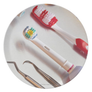 Oral Hygiene - Electric toothbrush, manual Plate