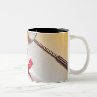 Oral Hygiene - Electric toothbrush, manual Two-Tone Coffee Mug