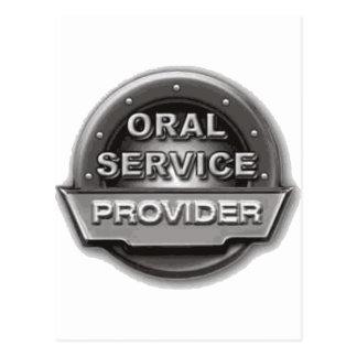 Oral Service Provider Postcard