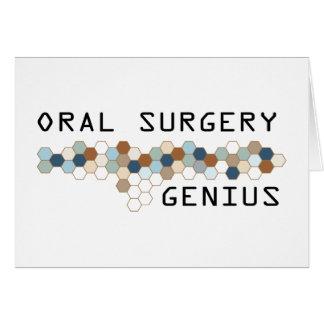 Oral Surgery Genius Card