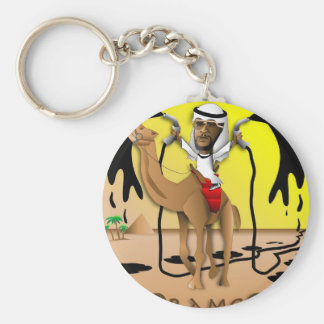 ORAMCO Crude Policy Basic Round Button Key Ring