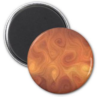 orang093 6 cm round magnet