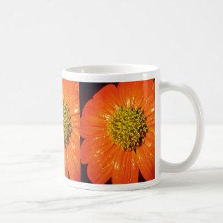 Orange After the rain flowers Mugs