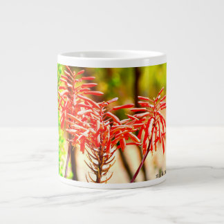 Orange Agave Blooms Coffee Cup