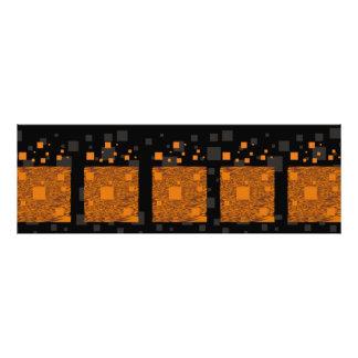 Orange alert float abstract Halloween black box Photograph