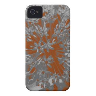 Orange Allium Flower iPhone 4/4S Barely There Case