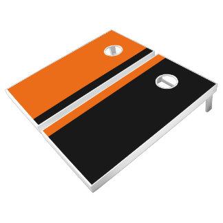 Orange and Black Add Your Logo