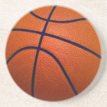 Orange and Black Basketball