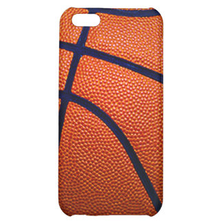 Orange and Black Basketball iPhone 5C Cases