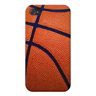 Orange and Black Basketball iPhone 4/4S Case