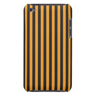 Orange and Black Stripes iPod Touch Cover