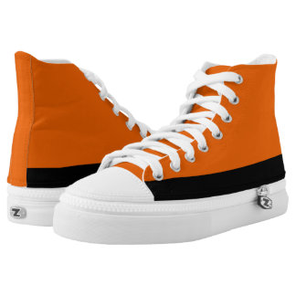 Orange and Black Trim Hi-Top