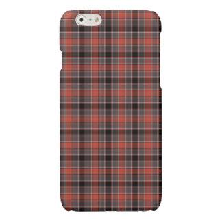 Orange and Black Urban Plaid iPhone 6 Plus Case