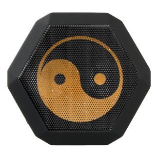 Orange and Black Yin Yang Boombot REX Speaker
