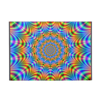 Orange and Blue Psychedelic Rings iPad Mini Case