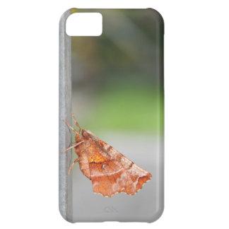 Orange and Brown Moth. iPhone 5C Case