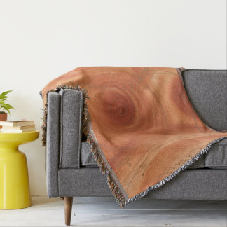 Orange and Gold Fine Art Abstract Painting Throw Blanket