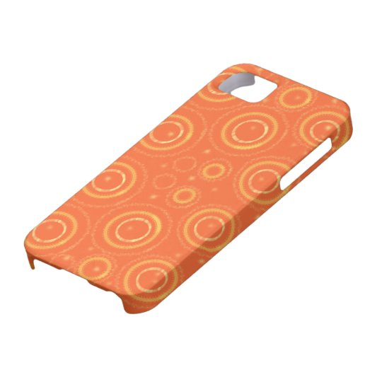 Orange and gold phonecase case for the iPhone