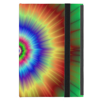Orange and Green Color Explosion Powis iCase Cover For iPad Mini