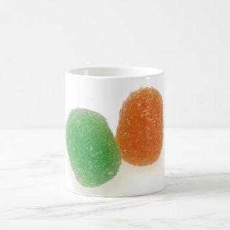 Orange and Green Gumdrops Coffee Mugs