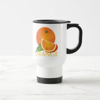 Orange and Orange Slice Mug