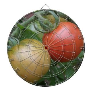 Orange and Red Tomatoes Dart Board