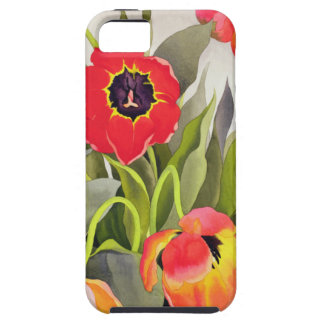 Orange and Red Tulips iPhone 5 Case