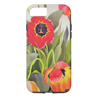 Orange and Red Tulips iPhone 7 Case