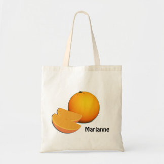 Orange and Slices Budget Tote Bag