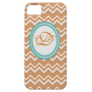 Orange and Teal Chevron Iphone Case Mate case iPhone 5 Covers