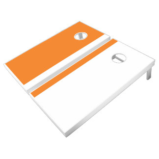 Orange and White Add Your Logo