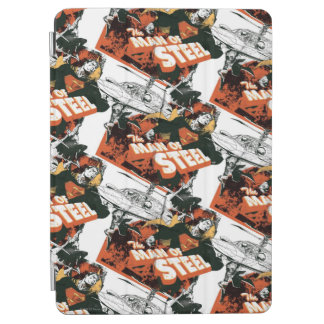 Orange and White Collage iPad Air Cover