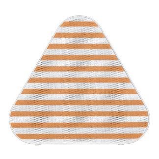 Orange and White Horizontal Stripe