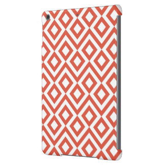 Orange and White Meander Case For iPad Air