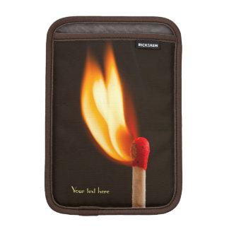 Orange and Yellow Fire Flame iPad Mini Sleeve
