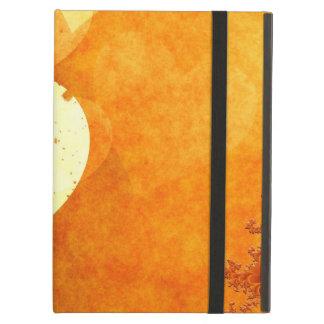 Orange and Yellow Floating Hearts iPad Folio Cases