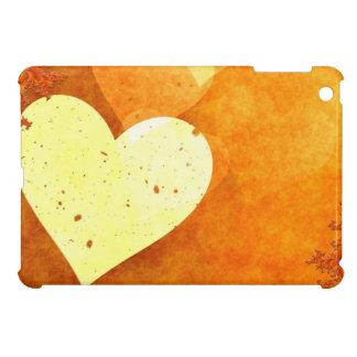 Orange and Yellow Floating Hearts iPad Mini Case