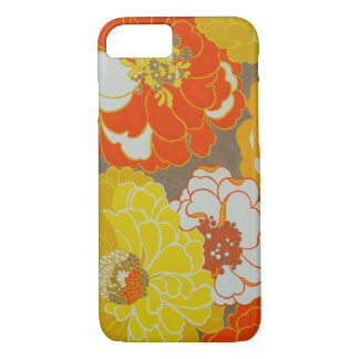Orange and Yellow Floral Museum LA iPhone Case