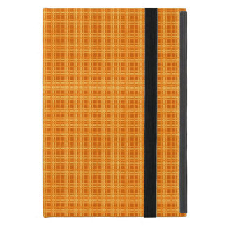 Orange and Yellow Plaid iPad Mini Case