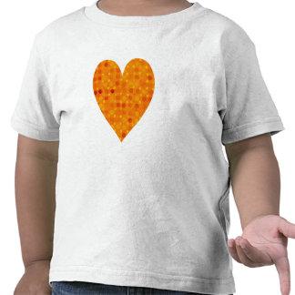 Orange and Yellow Polka Dots Shirts