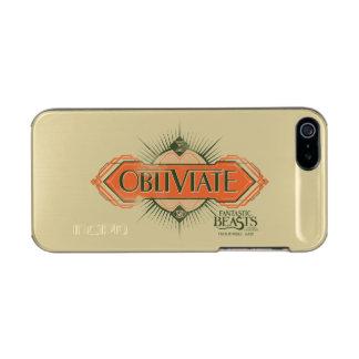 Orange Art Deco Obliviate Spell Graphic Incipio Feather® Shine iPhone 5 Case