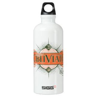 Orange Art Deco Obliviate Spell Graphic SIGG Traveller 0.6L Water Bottle